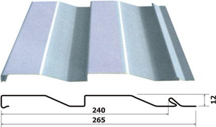 Металлический сайдинг. Преимущества металического сайдинга - Стандартная панель