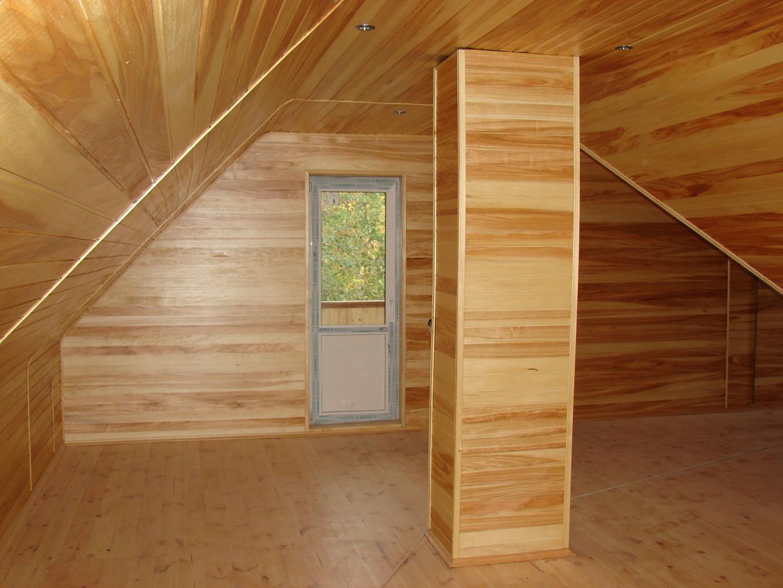 Внутренняя отделка деревянного дома поэтапно
