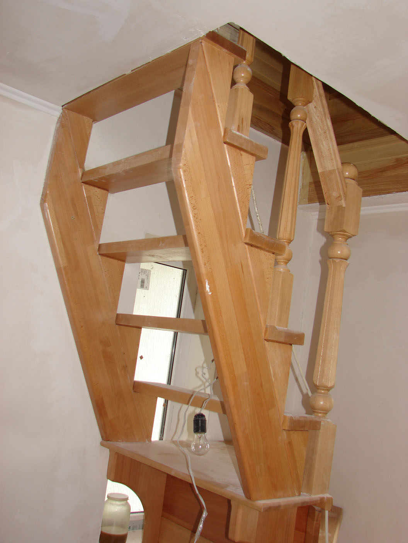 Лестница на 2этаж своими руками 656